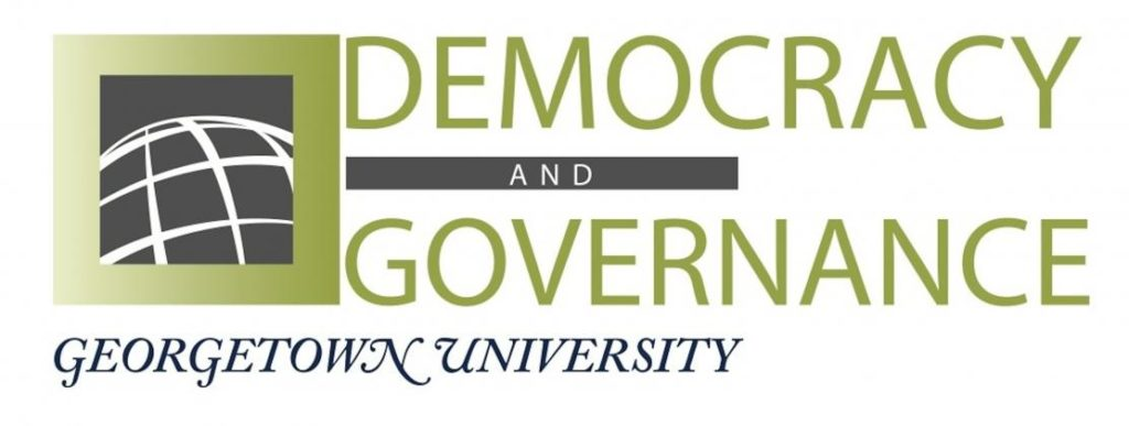 Democracy and Governance Banner