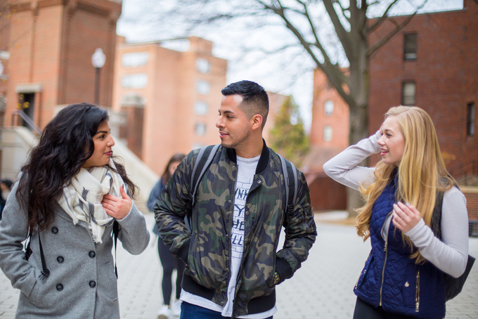 Georgetown's Master's Program in Conflict Resolution students, class of 2019